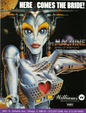 The Machine: Bride of Pin-Bot - Image: The Machine The Bride of Pin Bot Promotional Flyer