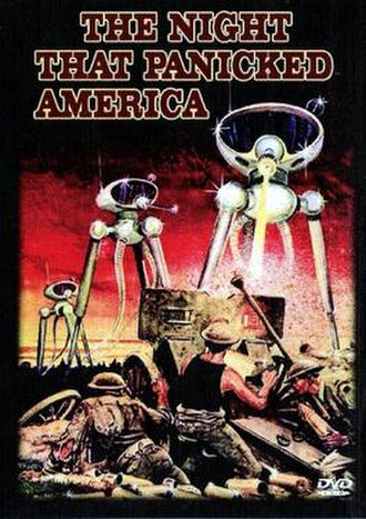 The Night That Panicked America - DVD cover
