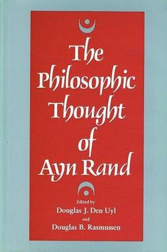 The Philosophic Thought of Ayn Rand - Cover of the first edition