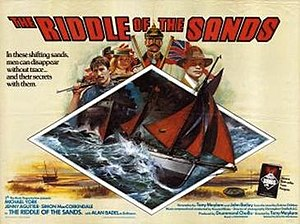 The Riddle of the Sands (film) - Film poster by Brian Bysouth