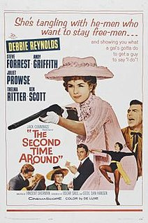 <i>The Second Time Around</i> (1961 film) 1961 film by Vincent Sherman