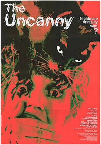 The Uncanny (film) - Theatrical poster to The Uncanny (1977)