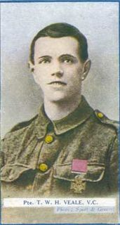 Theodore Veale Recipient of the Victoria Cross