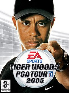 <i>Tiger Woods PGA Tour 2005</i> 2004 video game