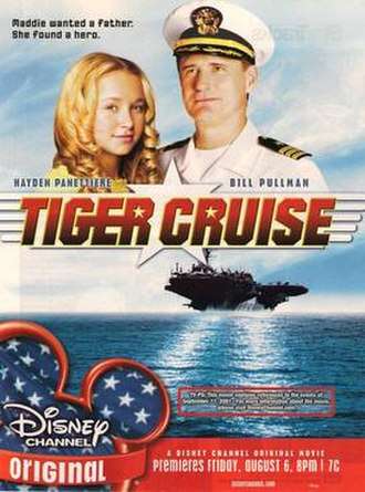 Tiger Cruise - Promotional poster