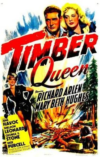 Timber Queen (1944 film) - Image: Timber Queen Film Poster
