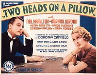 Two Heads on a Pillow