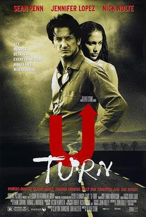 U Turn (1997 film) - Theatrical release poster