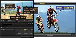 The main interface of Corel VideoStudio X6 (2013)