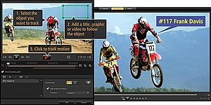 Corel VideoStudio - Image: Ulead Video Studio screenshot