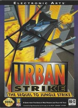 Urban Strike - Image: Urban Strike cover