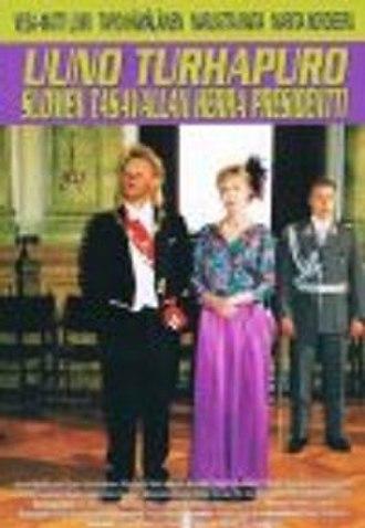 Uuno Turhapuro – Suomen tasavallan herra presidentti - DVD cover
