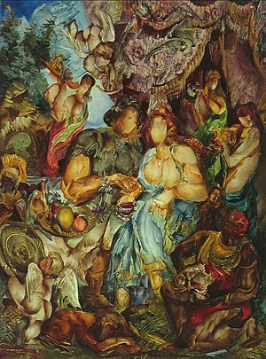 Vladimir Bougrine - Image: Vladimir bougrine painting 016