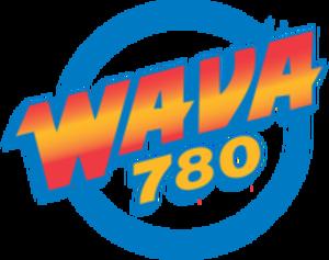 WAVA (AM) - Image: WAVA AM 2015