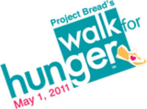 Walk for Hunger - The logo of the 2011 Walk for Hunger