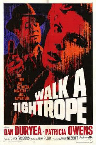 Walk a Tightrope - Theatrical release poster