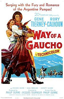 <i>Way of a Gaucho</i> 1952 film by Jacques Tourneur