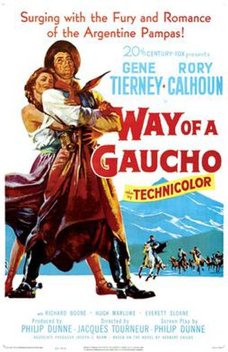 Way of a Gaucho - Theatrical release poster