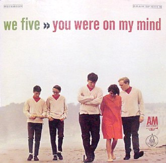 We Five - We Five on the cover of their first album
