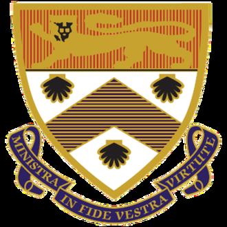 Wesley College, University of Sydney - Image: Wesley College, University of Sydney coat of arms