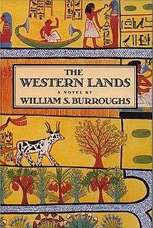 <i>The Western Lands</i> novel by William S. Burroughs