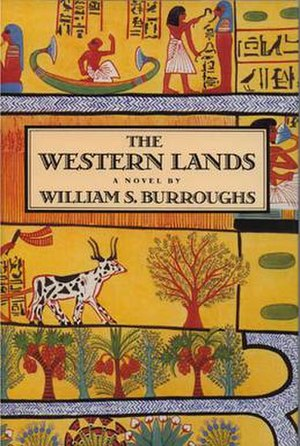 The Western Lands - Cover of the 1987 Viking Press hardcover edition