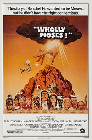 Wholly Moses! - Film poster by Jack Rickard