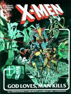 X-Men: God Loves, Man Kills - Image: X Men God Loves Man Kills cover