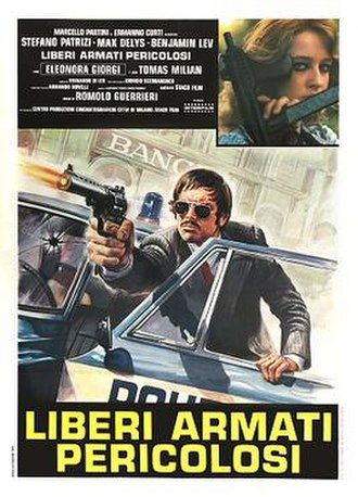 Young, Violent, Dangerous - Italian theatrical release poster
