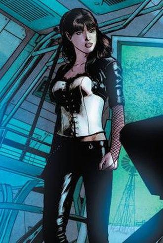 Zatanna - Zatanna's first New 52 costume. Art by Michael Janin