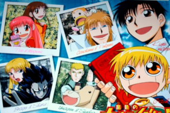 List of Zatch Bell! characters | Revolvy