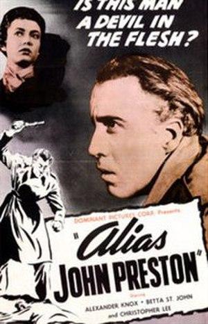 """Alias John Preston - Image: """"Alias John Preston"""" (1955)"""