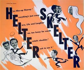<i>Helter Skelter</i> (1949 film) 1949 British romantic comedy film directed by Ralph Thomas