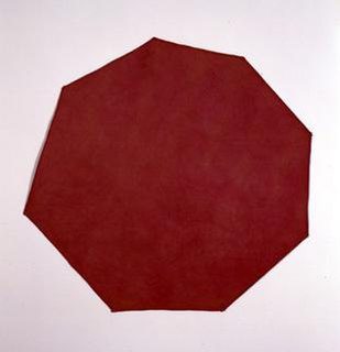 Shaped canvas type of canvas and painting that is shaped differently from the default rectangular form