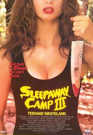 Sleepaway Camp III: Teenage Wasteland - Image: 02msleepawaycamp