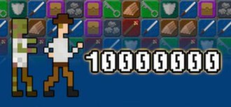 10000000 (video game) - Image: 10000000 video game logo