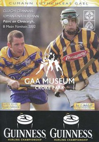 2002 All-Ireland Senior Hurling Championship Final - Image: 2002 All Ireland Hurling
