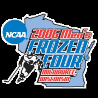 2006 NCAA Division I Men's Ice Hockey Tournament - 2006 Frozen Four logo