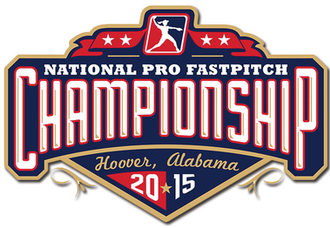 2015 National Pro Fastpitch season - Logo for the 2015 NPF Championship Series