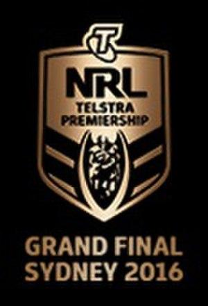 2016 NRL Grand Final - Image: 2016 NRL Grand Final logo