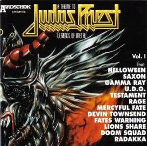 A Tribute to Judas Priest: Legends of Metal - Image: A Tribute To Judas Priest Legends Of Metal Vol. I