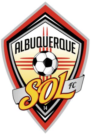 Albuquerque Sol FC - Image: Albuquerque Sol Logo