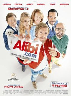 <i>Alibi.com</i> 2017 French film directed by Philippe Lacheau