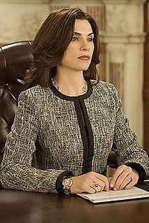 Alicia Florrick main character from the television series The Good Wife