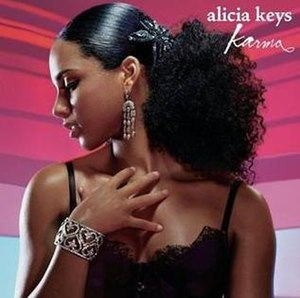 Karma (Alicia Keys song) - Image: Alicia Keys Karma single cover