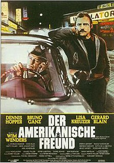 <i>The American Friend</i> 1977 film by Wim Wenders