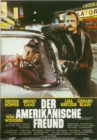 The American Friend - German film poster