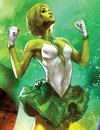 Arisia Rrab - Image: Arisia Rrab, Green Lantern Lost Army 2
