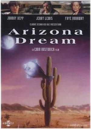 Arizona Dream - DVD cover for Arizona Dream