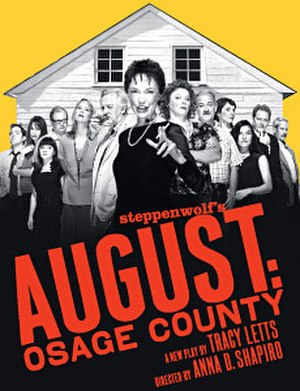 August: Osage County - Original Broadway windowcard